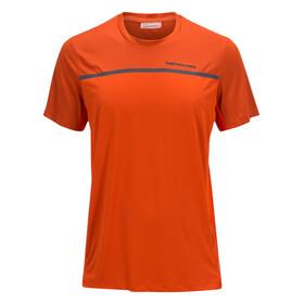 Peak Performance Rucker Bluzka z krótkim rękawem Mężczyźni pomarańczowy
